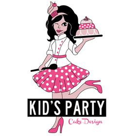 """Maria Teresa Pérez """" kid's party cake design"""""""