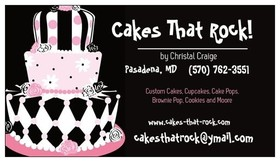 Cakes That Rock by Christal