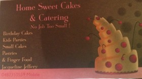 Home sweet cakes & catering