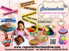 art & cakes pasteleria crisandree