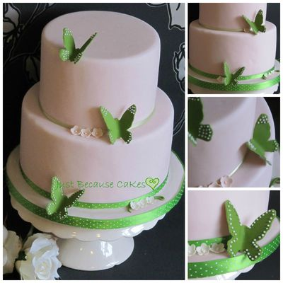Medium_green_butterflies_two_tier_wedding_cake_collage_w2013
